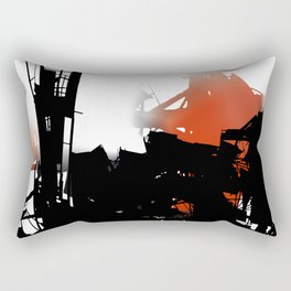city aura Rectangular Pillow