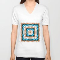 storm V-neck T-shirts featuring Storm by Cs025