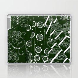 Japanese kimono art  Laptop & iPad Skin