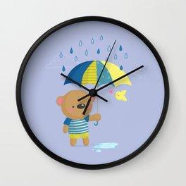 Rainy Season Wall Clock