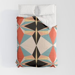 abstract geometric design for your creativity    Comforters