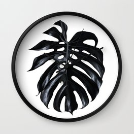 Palm Leave Wall Clock