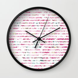 Babylon-stripe Wall Clock