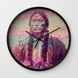 The Last Comanche Wall Clock