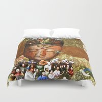meditation Duvet Covers featuring Meditation by Bonnie M. Cummings ~ BeauCollage