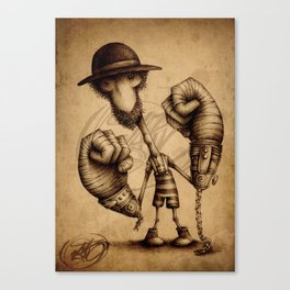 #17 Canvas Print