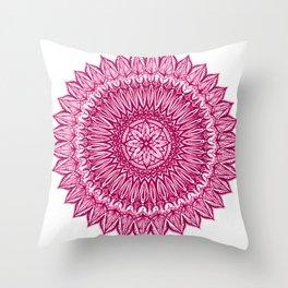 Sinful-Magenta Throw Pillow