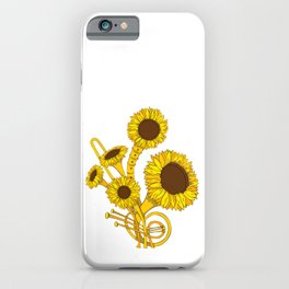 Sunflower Orchestra iPhone Case