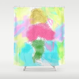 Forgetting You Shower Curtain