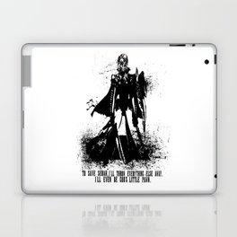 Lightning Ink Blot Laptop & iPad Skin