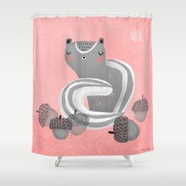 CHIPMUNK DREAM Shower Curtain