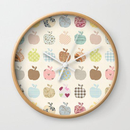 apples galore Wall Clock