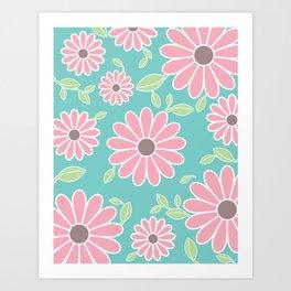 Cuty Flower Art Print
