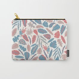 spencer leaf floral purple pink blue rainbow Carry-All Pouch