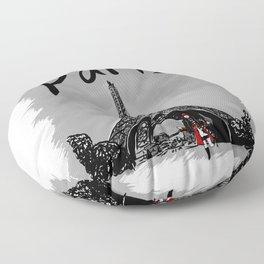 Paris - Travel Serie Floor Pillow