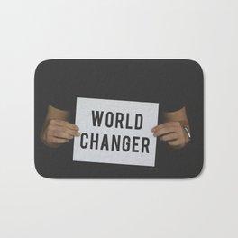 World Changer Bath Mat