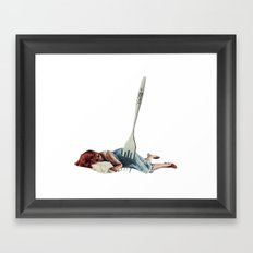 Sleep When You Die. Framed Art Print