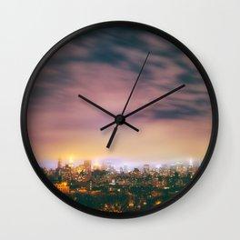 NY Lights Wall Clock