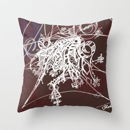 Intricate  Throw Pillow