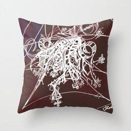 Intricate  Throw Pillow