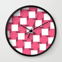 Luis Barragán Tribute 3 Wall Clock