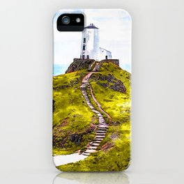 Lighthouse Ynys Llanddwyn - For Lighthouse Lovers iPhone Case