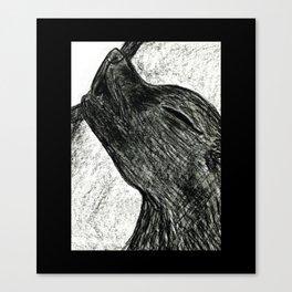 Little Wolfie Canvas Print