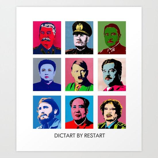 Dictart Art Print