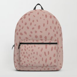 Christmas Season Pattern In Candy Cane Backpack