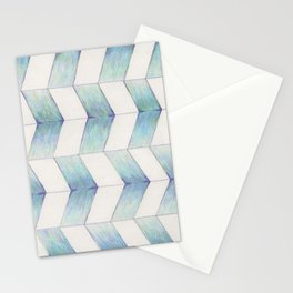 Paralell-grams Stationery Cards