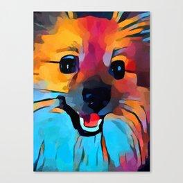 Pomeranian 2 Canvas Print