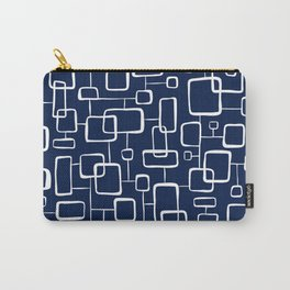 On The Quad - Navy Blue Carry-All Pouch