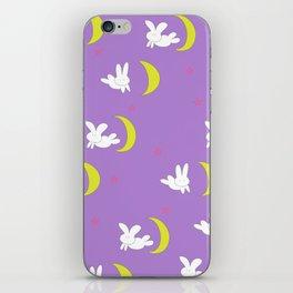 Usagi (Sailor Moon) Bedspread Bunny and Moon  iPhone Skin
