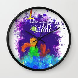 The Little Prince | Quotes | But if you tame me, then we shall need each other. Part 3 of 3 Wall Clock