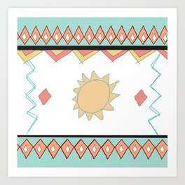 Indian style Art Print