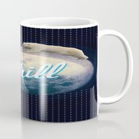 chill Mugs featuring Chill by Isaak_Rodriguez