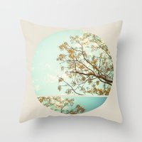 dorothy Throw Pillows featuring Dorothy by Lala Mártin