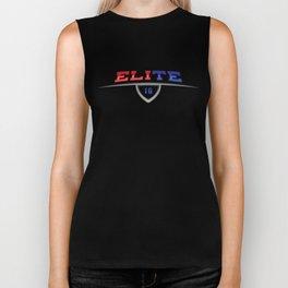 "New York Giants ""Elite"" 10 Biker Tank"