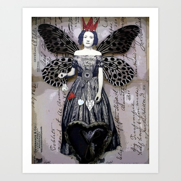 Collector of Hearts Art Print