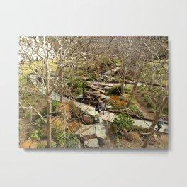 Getty Landscaping  Metal Print