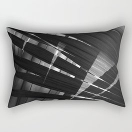 Abstract Palm Leaves 8 Rectangular Pillow