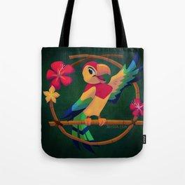 José the Tiki Bird Tote Bag