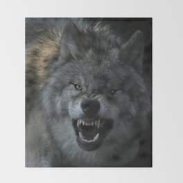 Malicious Intent Throw Blanket