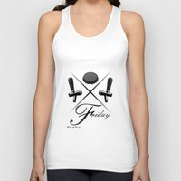 friday Tank Tops featuring Friday by visionalfreeman