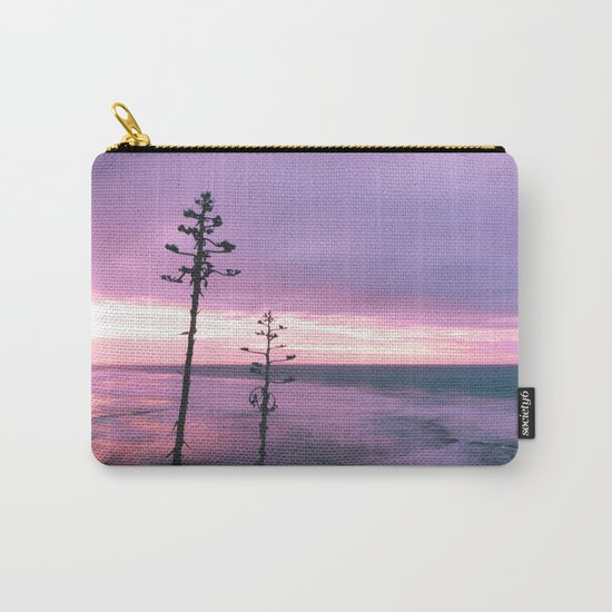 Winter Skies Carry-All Pouch