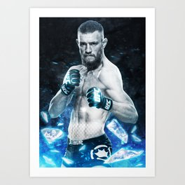 UFC - Conor McGregor Art Print