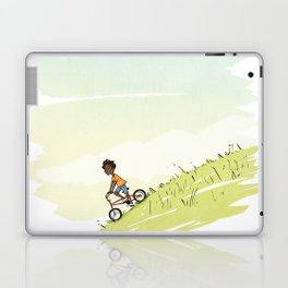 Boy on Bike Laptop & iPad Skin