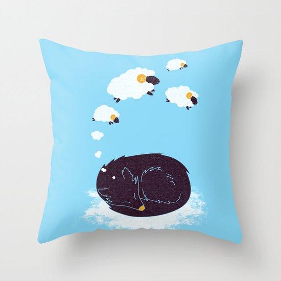 sweet dream Throw Pillow