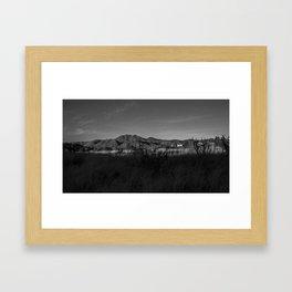 Gold Mine Road Framed Art Print