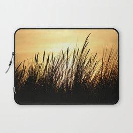 Beachgrass at Sunset Laptop Sleeve